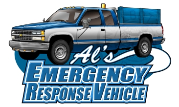 Al's Emergency Response Vehicle Graphic