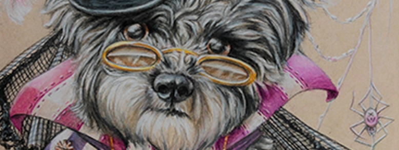 Steampunk Pink Dog Page Featured Image copy