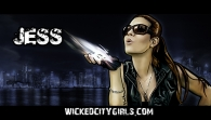 Wicked City Girls Graphic - Jess
