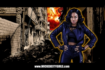 Wicked City Girls Graphic - No Name