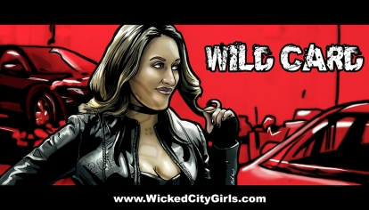 Wicked City Girls Graphic - Wild Card